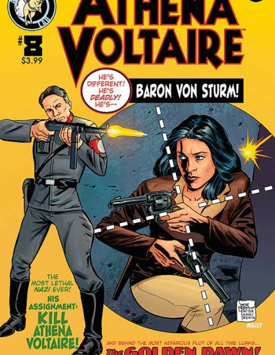 Athena Voltaire #8 (Steve Bryant Homage Variant) - March 2019