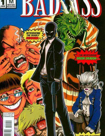 Bad Ass #1 (New Mutants 98 Homage Variant) - January 2014