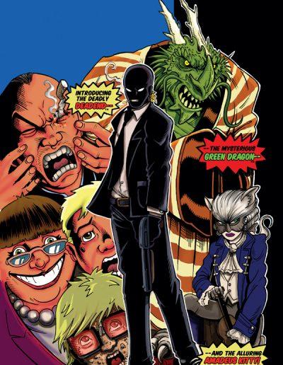 Bad Ass #1 (New Mutants 98 Homage Virgin Variant) - January 2014