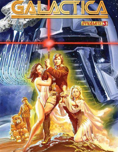 Battlestar Galactica (Vol 5) #3 (Alex Ross) - August 2013