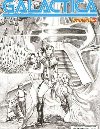 Battlestar Galactica (Vol 5) #3 (Alex Ross Sketch Variant) - August 2013