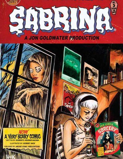 Chilling Adventures of Sabrina #5 (Hack Variant) - July 2016