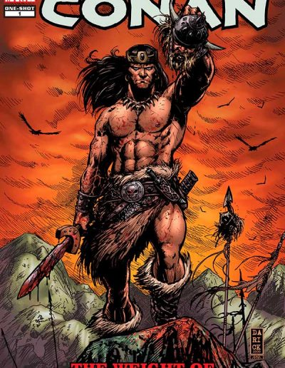 Conan: Weight of the Crown #1 - January 2010