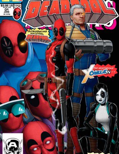"""Deadpool (Vol 5) #1 (John Tyler Christopher """"Direct"""" Variant) - August 2018"""