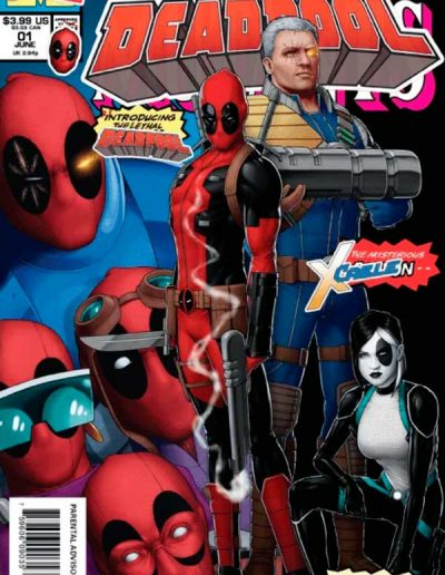 "Deadpool (Vol 5) #1 (John Tyler Christopher ""Newsstand"" Variant) - August 2018"