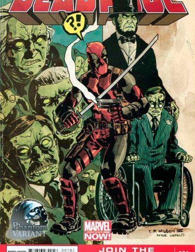 Deadpool (Vol 3) #1 (Charles Paul Wilson III Phantom Variant) - January 2013