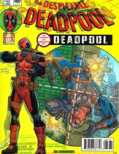 Despicable Deadpool #287 (Lenticular Variant) - December 2017