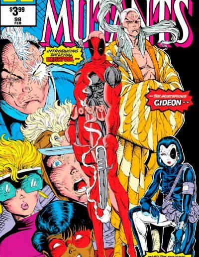 New Mutants #98 (Facsimile) - September 2019
