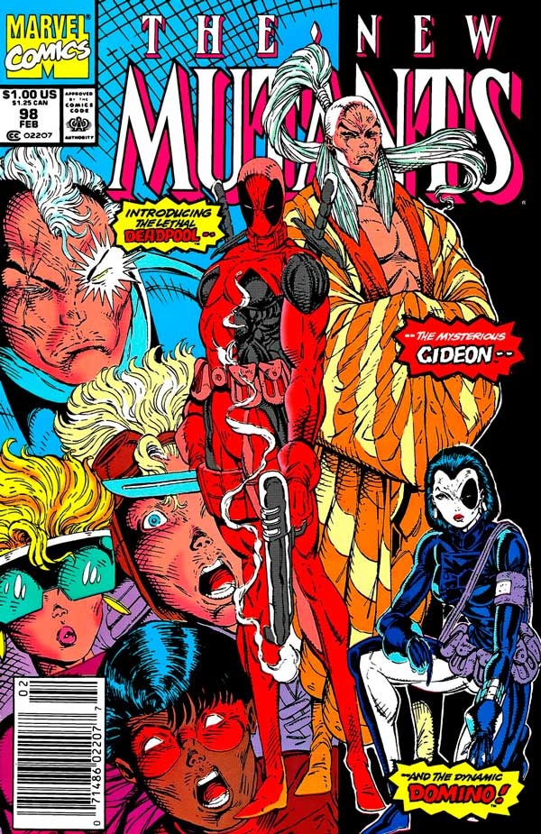 New Mutants #98 - February 1991