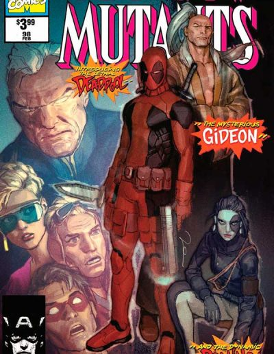 New Mutants #98 (Gerald Parel Facsimile) - September 2019
