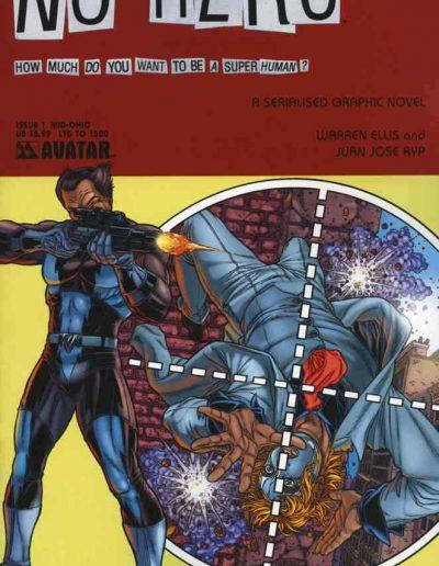 No Hero #1 (Mid-Ohio Variant) - September 2008