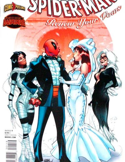 Amazing Spiderman: Renew Your Vows #1 (Deadpool Variant) - August 2015