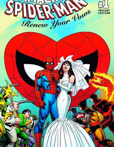 Amazing Spiderman: Renew Your Vows (Vol 2) #1 (Romita 1:100 Variant) - November 2016