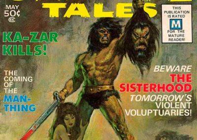 Savage Tales #1 (1971) Homage Covers