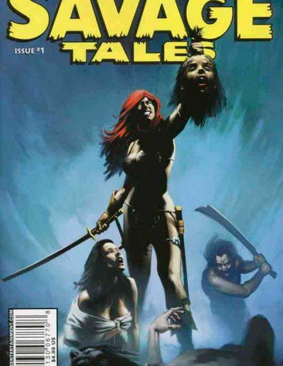 Savage Tales (Dynamite) #1 (Richard Isanove Variant) - April 2007