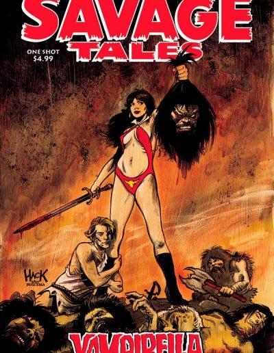 Savage Tales: Vampirella #1 - May 2018