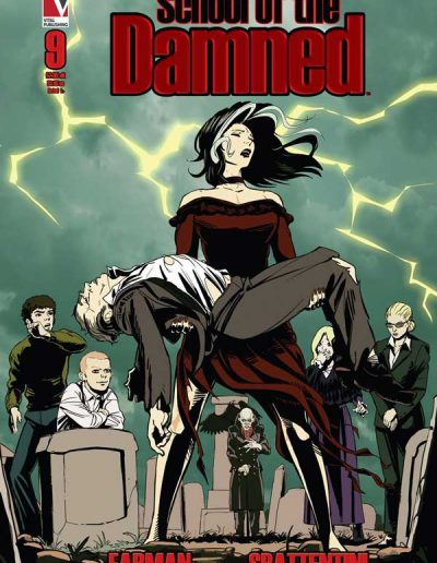 School of the Damned #9 - May 2020