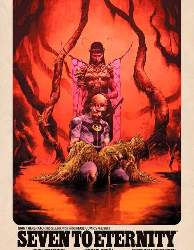 Seven to Eternity #17 - August 2021