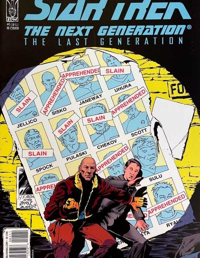 Star Trek: The Next Generation: The Last Generation #1 (Woodward Incentive Variant) - October 2008
