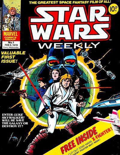 Star Wars Weekly #1 (UK) - February 1978