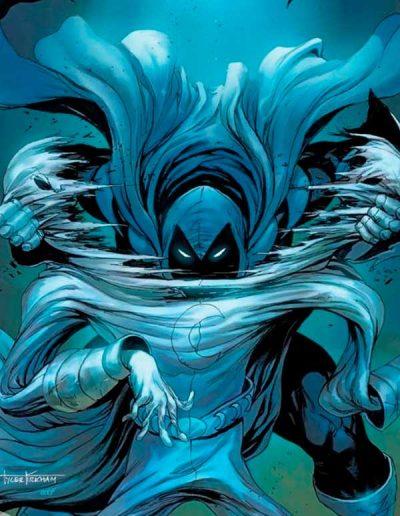 Moon Knight (Vol 9) #1 (Tyler Kirkham Virgin Variant) - July 2021