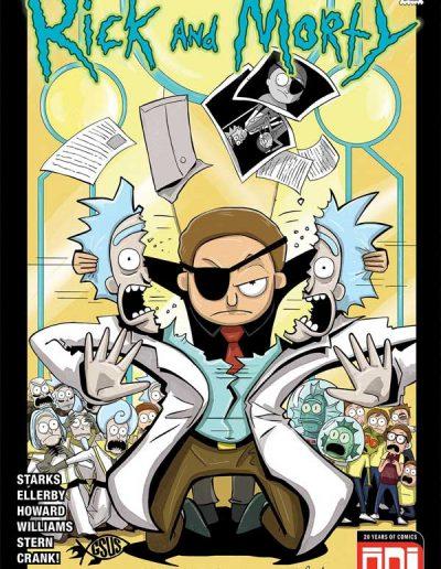 Rick and Morty #44 (GSUS Variant) - November 2018