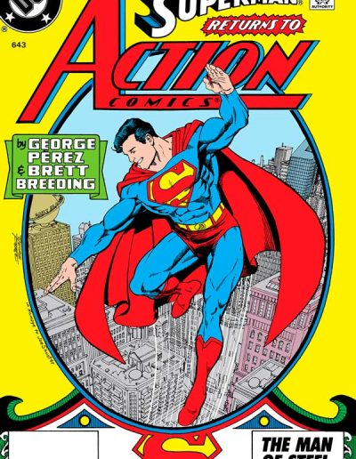 Action Comics #643 - July 1989