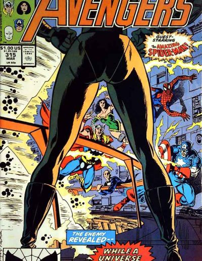Avengers #315 - March 1990