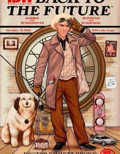Back to the Future #1 (Heroes & Fantasies Variant) - October 2015