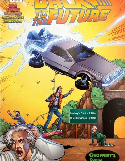 Back to the Future #1 (Geoffrey's Comics Variant) - October 2015