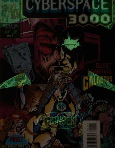 Cyberspace 3000 #1 - July 1993