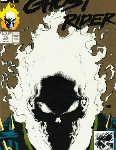 Ghost Rider (Vol 3) #15 (2nd Print) - July 1991