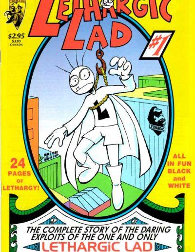 Lethargic Lad #1 - June 1996