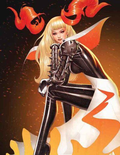 New Mutants (Vol 4) #19 (David Nakayama Hellfire Gala Virgin Variant) - August 2021