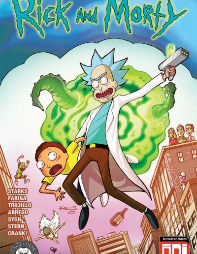 Rick and Morty #39 (Kotkin Excelsior Collectibles Variant) - June 2018