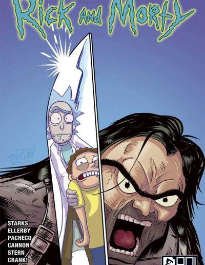 Rick and Morty #46 (Wilcox Comics Illuminati Variant) - January 2019