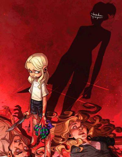 Something Is Killing the Children #17 (Ozgur Yildirim Glow-In-The-Dark Variant) - June 2021