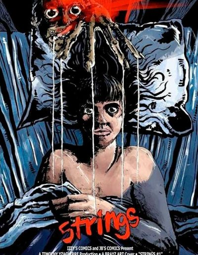 Strings #1 (Nightmare on Elm Street Trade Dress Variant)- August 2021