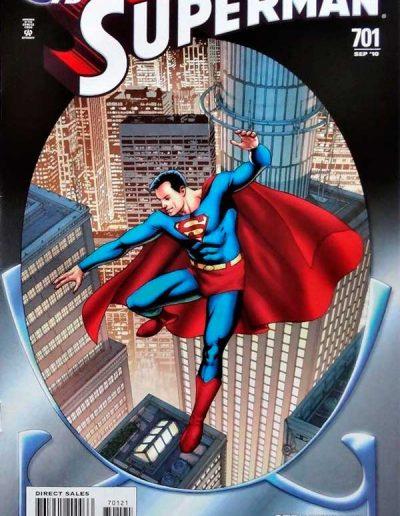 Superman #701 (75th Anniversary Variant) - September 2010