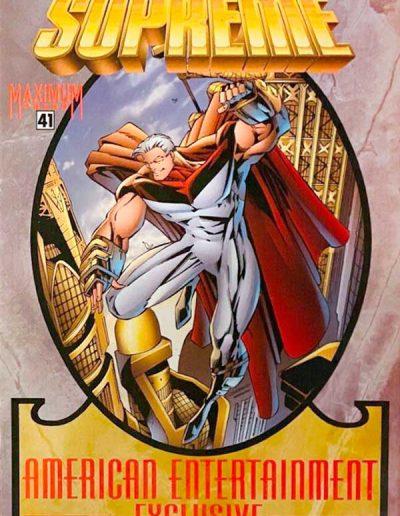 Supreme #41 (American Entertainment Variant) - August 1996