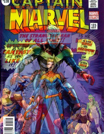 Captain Marvel (Vol 8) #125 (Legacy Lenticular Variant) - December 2017