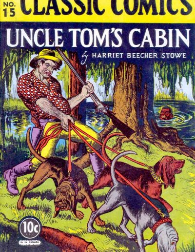 Classics Illustrated #15 Uncle Tom's Cabin - November 1943