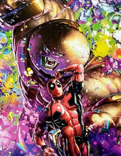 Deadpool Nerdy Thirty #1 (Crain Black Light Virgin Variant) - May 2021