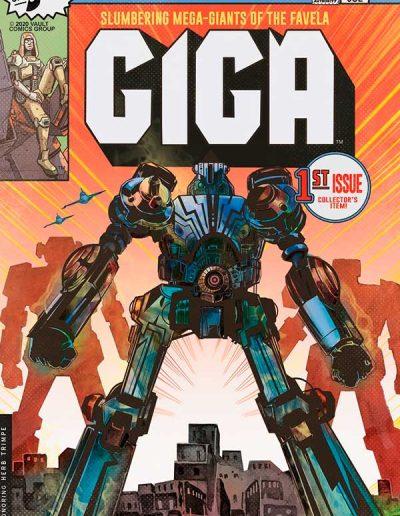 Giga #1 (Nathan Gooden & Tim Daniel Glow-in-the-Dark Variant) - October 2020