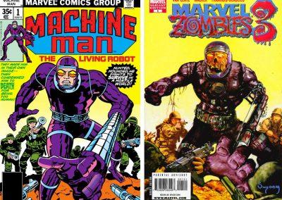 Marvel Zombies 3 #1 (Machine Man 1 Homage Variant) - December 2008