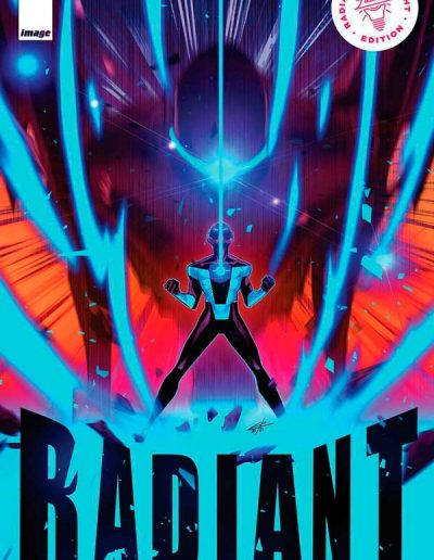 Radiant Black #10 (Black Light Variant) - November 2021