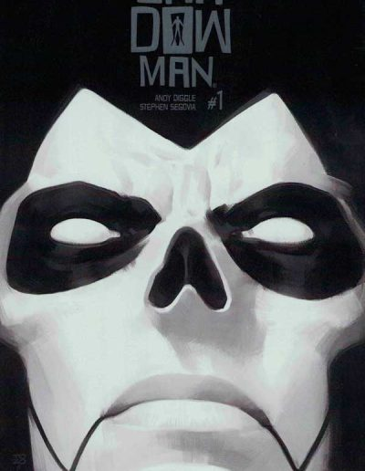 Shadowman (Vol 5) #1 (Brushed Metal Glow-in-the-Dark Incentive Variant) - March 2018