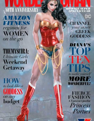 Wonder Woman 80th Anniversary 100-Page Super Spectacular (Natali Sanders Trade Dress Variant) - October 2021