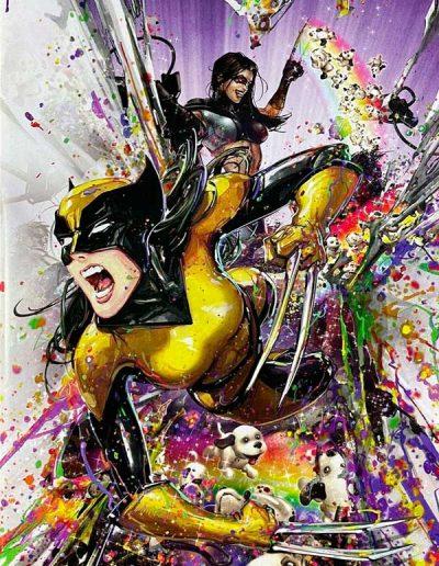 X-Men (Vol 7) #1 (Crain Black Light Virgin Variant) - September 2021