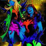 Black Light Comic Book Covers